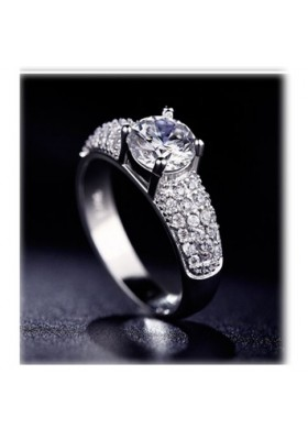 Bague Diamant Strass