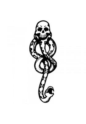Tatouages éphémères Serpent