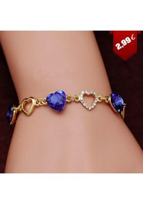 Bracelet avec un coeur