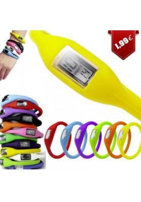 Montre Bracelet Silicone (Différents coloris)