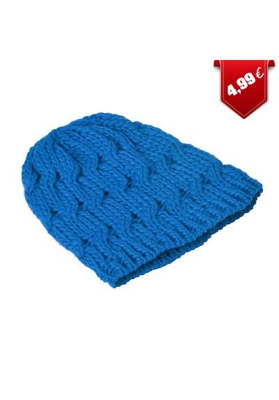 Bonnet torsade tricot