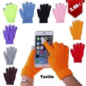Gants pour Ecrans Tactiles tricotés