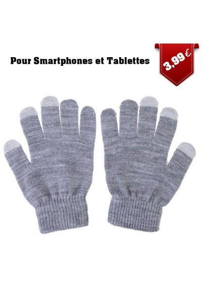 Gants pour Ecran Tactile tricotés