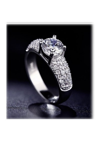 Bague Diamant Strass