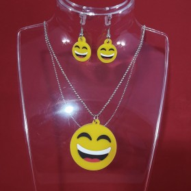 Parure Bijoux Smiley Emoticones