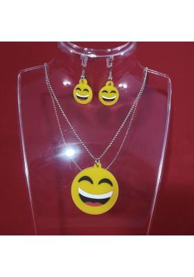 Parure Bijoux Smiley Emoticones