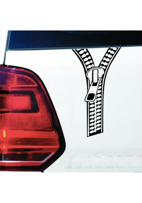 Sticker Auto Fermeture Eclair