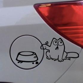 Sticker Auto Le Chat de Simon Réservoir