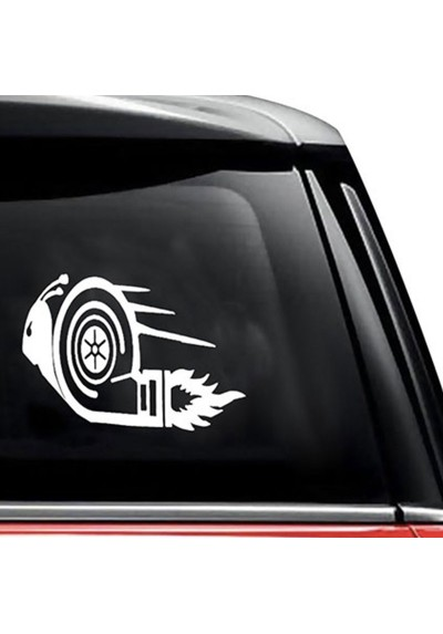 Sticker Auto Escargot Turbo