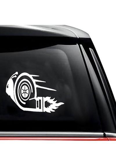 Sticker Auto Escargot Turbo