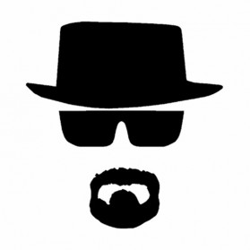 Sticker Auto Heisenberg Breaking Bad