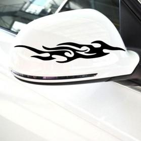 Sticker Auto Flammes