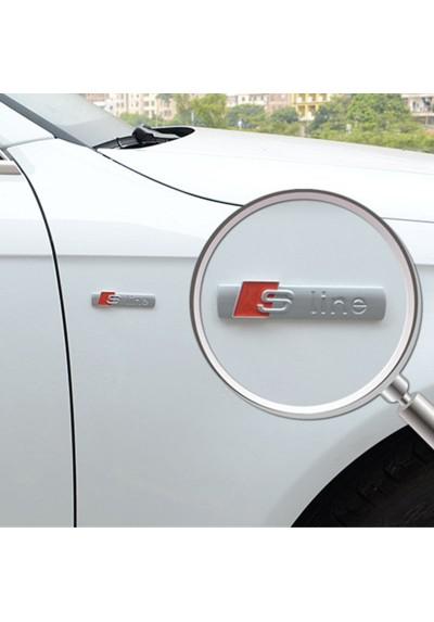 Sticker Auto S Line Métal Audi A3 A4 A5 A6 Q3 Q5 Q7