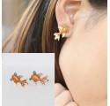 Boucles d'oreilles Poisson en métal