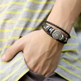 Bracelet Mixte Cuir Homme Femme