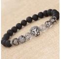 Bracelet Tête de Lion Mixte