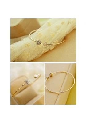 Bracelet ouvert femme