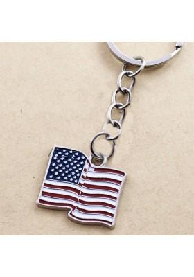 Porte Clé Drapeau Américain USA