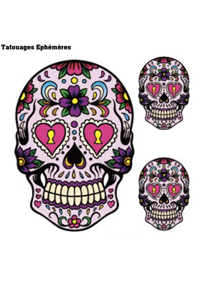 Tatouage Crane Mexicain Temporaire