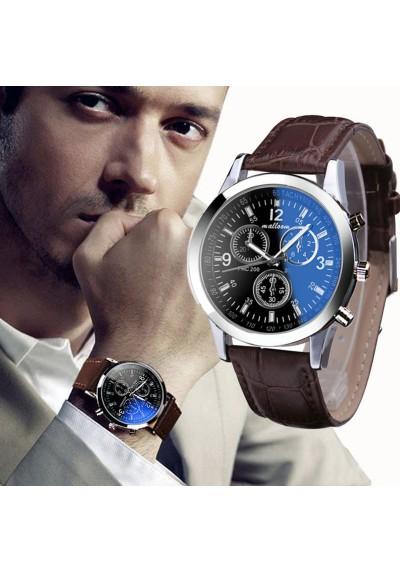 Montre homme bracelet similicuir