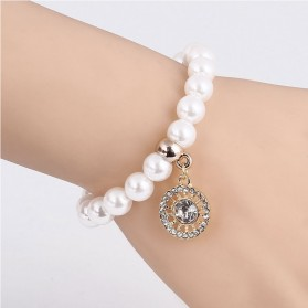 Bracelet Fausse Perle de Culture