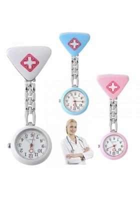 Montre Infirmière Quartz à Clipser avec trotteuse