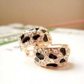 Boucles d'oreilles léopard