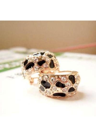Boucle d'oreille Leopard