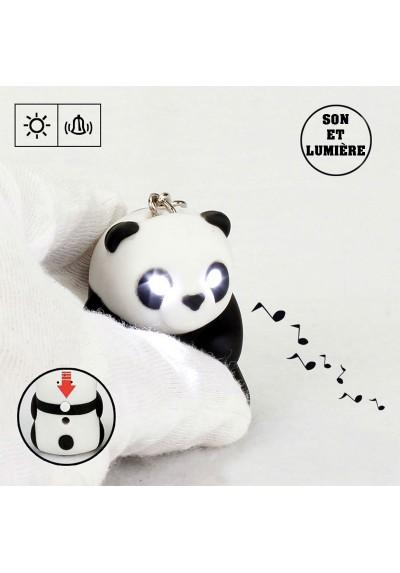 Porte Clé Panda Lumineux