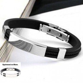 Bracelet Silicone Sport Homme