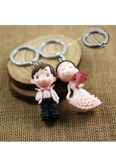 Porte-Clés Couple de Mariés