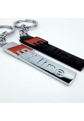Porte Clé Audi S Line en métal