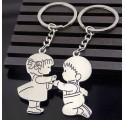 Porte-Clés Couple d'Enfants