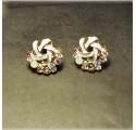 Boucles d'oreilles Rosace