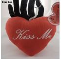 Porte-Clés Coeur Kiss Me Sonore