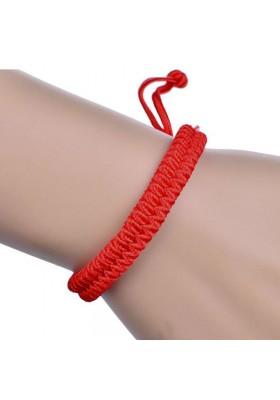 Bracelet Rouge Ajustable