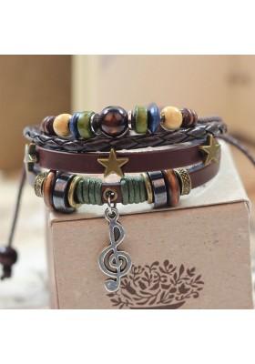 Bracelet Clé de Sol Bohémienne