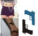 Tatouages Ephémères Pistolet
