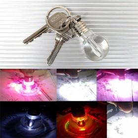 Porte Clé Ampoule LED