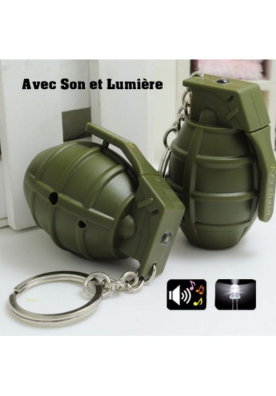 Porte-Clés Grenade Simulation