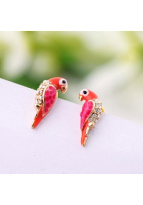 Boucles d'oreilles perroquets