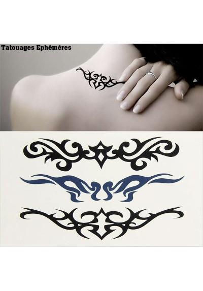 Tatouages éphémères Tribal Mixte