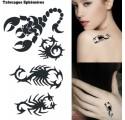 Tatouages Ephémères Scorpion