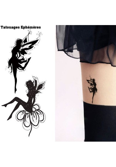 Tatouages Ephémères Fée