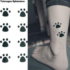 Tatouages Ephémères Patte de Chat