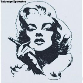 Tatouage Ephémère Temporaire Marilyn Monroe
