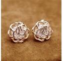 """Boucles d'oreilles """"Rose des sables"""""""