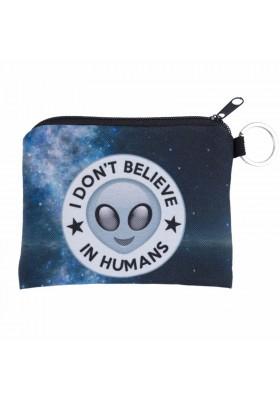 Porte Monnaie Martien Alien UFO en Tissu
