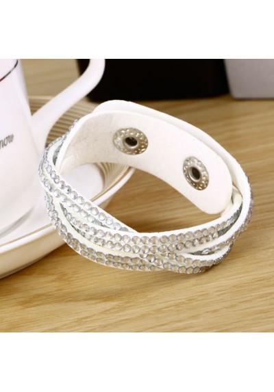 Bracelet à Strass torsadé