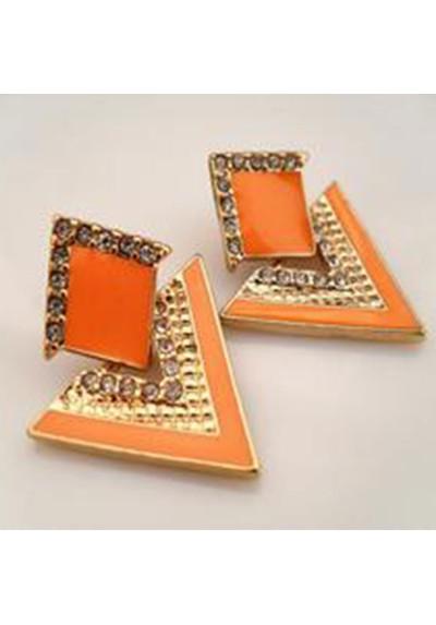 Boucles d'oreilles triangulaires Vintage